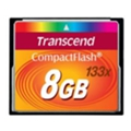 Transcend Compact Flash 133x 8Gb