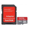SanDisk 8 GB microSDHC Mobile Ultra + SD adapter (SDSDQU-008G-U46A)