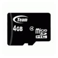 TEAM 4 GB microSDHC Class 4 TUSDH4GCL402