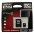 GoodRAM 32 GB microSDHC class 10 + SD Adapter SDU32GHC10AGRR9