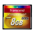 Transcend Compact Flash 600x 8Gb