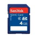SanDisk 4 GB Standard SDHC Card