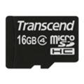 Transcend 16 GB microSDHC class 4
