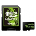 Verico 16 GB microSDHC Class 10 + SD adapter
