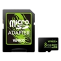 Verico 8 GB microSDHC Class 10 + SD adapter VFE3-08G-V1E