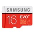 Samsung 16 GB microSDHC Class 10 UHS-I EVO Plus + SD Adapter MB-MC16DA