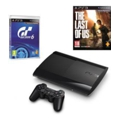 Sony PlayStation 3 Super Slim 500 GB + Gran Turismo + The Last of Us