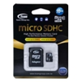 TEAM 16 GB microSDHC Class 10 + SD Adapter