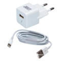Just Atom USB Wall Charger (1A/5W, 1USB) White (WCHRGR-TMLGHT-WHT)
