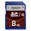 Apacer 8 GB SDHC Class 10 UHS-I AP8GSDHC10U1-R