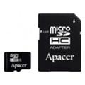 Apacer 16 GB microSDHC Class 4 + SD adapter AP16GMCSH4-R