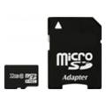 Exceleram 32 GB microSDHC class 10 + SD Adapter MSD3210A