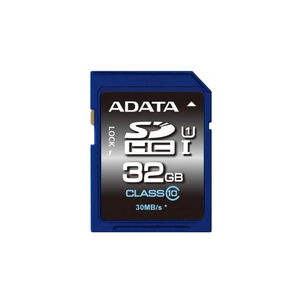 A-data 32 GB SDHC UHS-I Premier ASDH32GUICL10-R