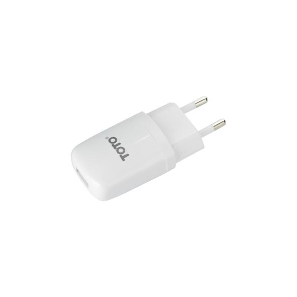 Toto TZV-43 Travel charger 1USB 2,1A White