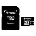 Pretec 16 GB microSDHC Class 6 + SD Adapter (STC16G-SA)