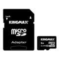 Kingmax 8 GB microSDHC Class 10 + SD Adapter KM08GMCSDHC101A