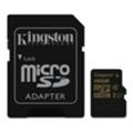 Kingston 16 GB microSDHC class 10 UHS-I + SD Adapter SDCA10/16GB