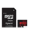 Apacer 16 GB microSDHC Class 10 UHS-I R85 + SD adapter AP16GMCSH10U5-R