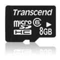 Transcend microSDHC class 6 8Gb