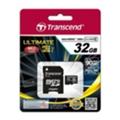 Transcend 32 GB microSDHC class 10 UHS-I Ultimate + SD Adapter TS32GUSDHC10U1