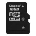 Kingston 16 GB microSDHC class 10 SDC10/16GBSP