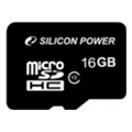 Silicon Power 16 GB microSDHC Class 10