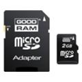 GoodRAM 2 GB microSD + SD adapter SDU2GAGRR10