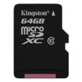 Kingston 64 GB microSDXC class 10 SDCX10/64GBSP