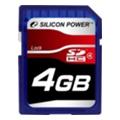 Silicon Power 4 GB SDHC Class 4
