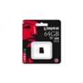 Kingston 64 GB microSDXC class 10 UHS-I U3 SDCA3/64GBSP
