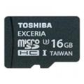 Toshiba 16 GB EXCERIA microSDHC UHS-I U3 + SD adapter SD-CX16UHS1(6A)