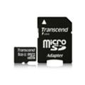 Transcend 8 GB microSDHC class 4 + SD Adapter