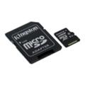 Kingston 128 GB microSDXC class 10 + SD Adapter SDCX10/128GB
