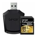Lexar 32 GB SDHC UHS-II U3 Professional + USB 3.0 reader LSD32GCRBEU2000R
