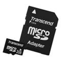Transcend 2 GB microSD + SD adapter