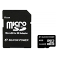 Silicon Power 4 GB microSDHC Class 4 SP004GBSTH004V10