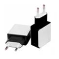 Drobak Сетевое зарядное устройство Power Dual 220V-USB (White/Black) (905309)