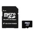 Silicon Power 2 GB microSD SP002GBSDT000V10