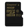 Kingston 16 GB microSDHC class 10 UHS-I SDCA10/16GBSP