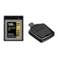 Lexar 128 GB XQD 2933X Professional + USB 3.0 reader LXQD128CRBEU2933BN
