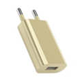 Toto TZR-08 Travel charger 1USB 1A Gold