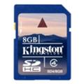 Kingston SDHC Class 4 8Gb