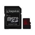 Kingston 16 GB microSDHC class 10 UHS-I U3 + SD Adapter SDCA3/16GB