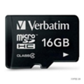 Verbatim 16 GB microSDHC class 4 (44007)