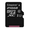 Kingston 256 GB microSDXC Class 10 UHS-I SDC10G2/256GBSP
