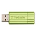Verbatim 8 GB Store 'n' Go PinStripe 47396 Green