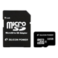 Silicon Power 32 GB microSDHC Class 4 SP032GBSTH004V10