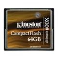Kingston 64 GB CompactFlash Ultimate 600x CF/64GB-U3