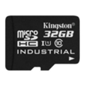 Kingston 32 GB microSDHC Class 10 UHS-I Industrial + SD Adapter SDCIT/32GB