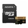 A-data 64 GB microSDXC UHS-I U3 XPG + SD adapter AUSDX64GXUI3-RA1